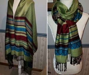 Beautiful Pashmina wrap scarf shawl Large Size